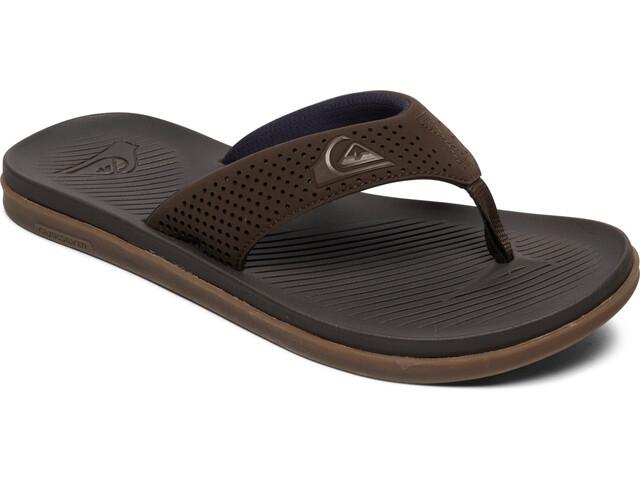 Quiksilver Haleiwa Plus Sandals Men, brown/brown/brown